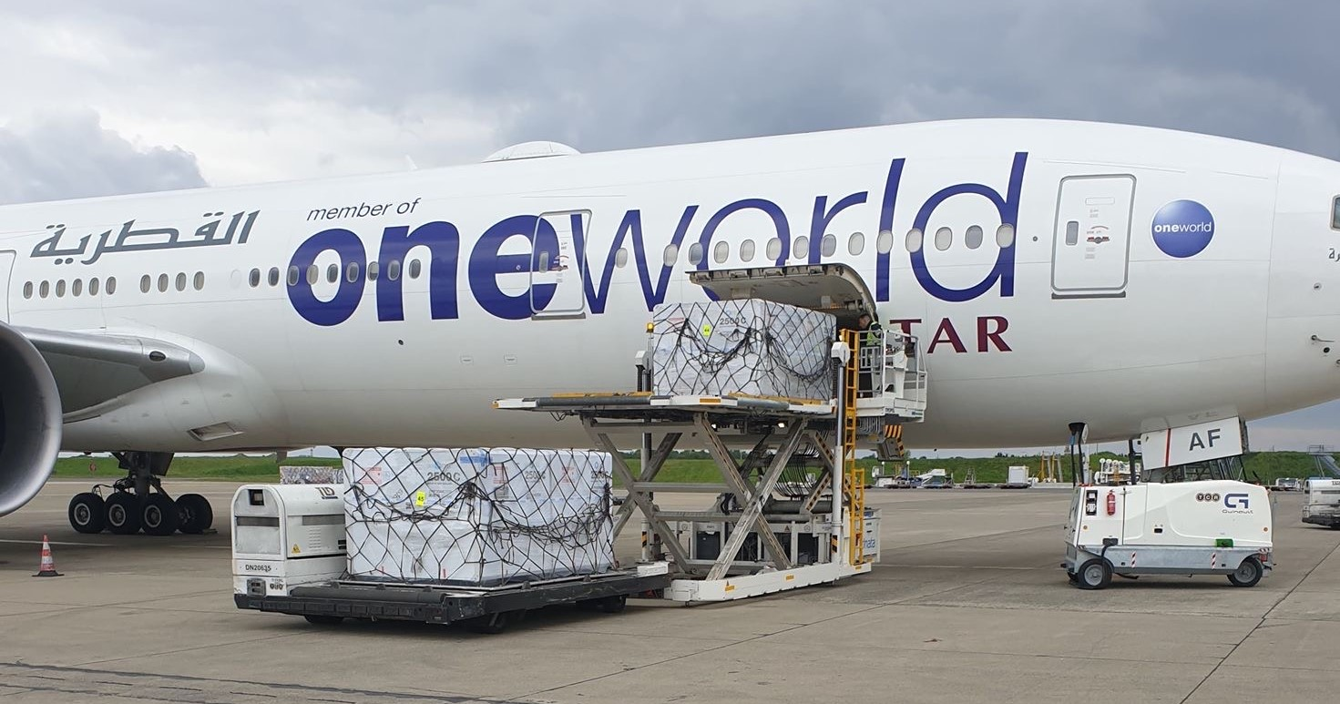 Qatar Airways Cargo with SkyCell Hybrid Pharma Container
